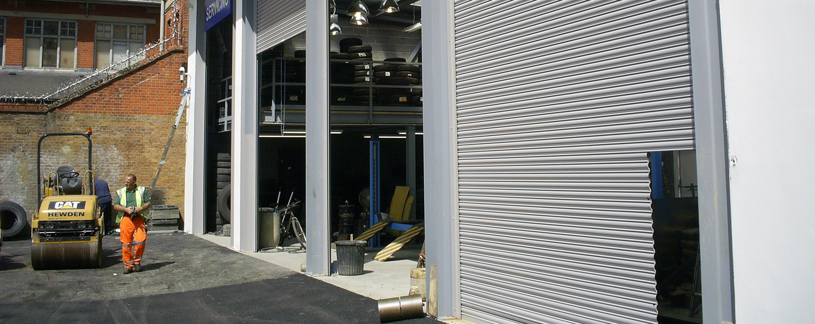Industrial Electric Roller Shutter
